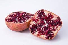 Pomegranate. Isolated pomegranate  with white background Stock Image