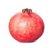 Pomegranate isolated on white background. Juicy pomegranate fruit isolated on white background Stock Images