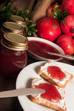 Pomegranate jam Royalty Free Stock Photos