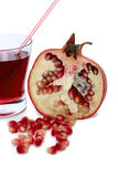 Pomegranate juice Stock Image
