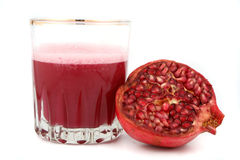 Pomegranate juice Royalty Free Stock Photo