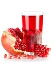Pomegranate juice Stock Images