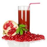 Pomegranate juice Royalty Free Stock Image