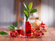 Pomegranate Juice Royalty Free Stock Images