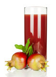 Pomegranate  juice Royalty Free Stock Image