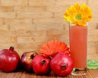 Pomegranate juice Stock Photos