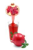 Pomegranate juice Royalty Free Stock Photos