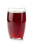 Pomegranate juice in a glass Stock Image