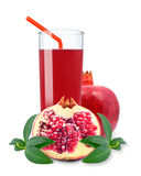 Pomegranate juice Royalty Free Stock Photography