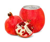Pomegranate juice Stock Photos