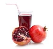 Pomegranate juice Stock Photo