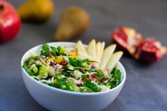 Pomegranate_Kale_Salad Stock Photography