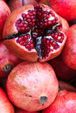 Pomegranate at local market Stock Image