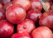 Pomegranate on the market Royalty Free Stock Photo