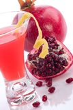 Pomegranate martini - Most popular cocktails serie Royalty Free Stock Images
