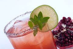 Pomegranate Mojito - Most popular cocktails series Stock Photo