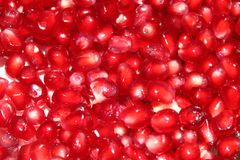 Pomegranate. Natural fresh red pomegranate fruit royalty free stock photography