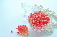 Pomegranate -natural treasure Stock Images