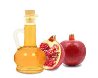 Pomegranate oil Stock Image