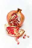 Pomegranate open Stock Photos