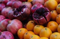 Pomegranate Oranges And Grapefruit Royalty Free Stock Image
