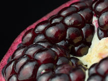 Pomegranate. Organic fruit from Armenia stock photography