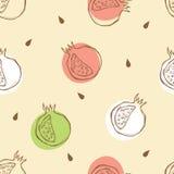 Pomegranate Pattern Stock Image