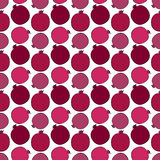 Pomegranate pattern Stock Photos