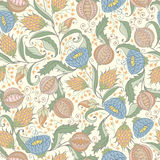 Pomegranate Pattern Royalty Free Stock Image
