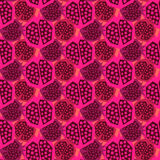 Pomegranate pattern. Seamless ornament. royalty free illustration