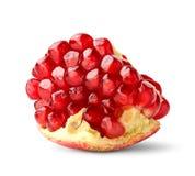 Pomegranate piece Royalty Free Stock Photo