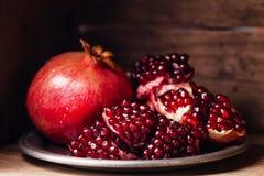 Pomegranate Stock Photos