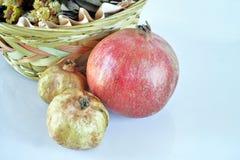 Pomegranate. S. Still life. Grains are visible Stock Photo