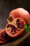 Pomegranate in poor art style Royalty Free Stock Images
