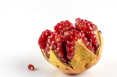 Pomegranate , Punica apple (Punica granatum L.) Stock Images
