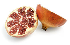 Pomegranate red, fruit Stock Photos