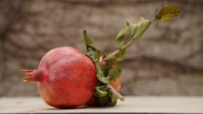Pomegranate Rosh Hashanah , especially juicy Royalty Free Stock Image