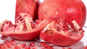 Pomegranate stock footage