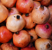 Pomegranate for sale. At Thailand market royalty free stock photos