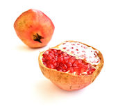 Pomegranate section Royalty Free Stock Photo