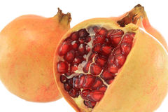 Pomegranate with seed Stock Image