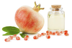 Pomegranate Seed Oil Royalty Free Stock Photo