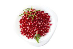 Pomegranate seed pile Royalty Free Stock Photography