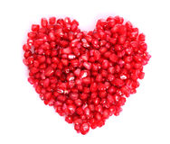 Pomegranate seeds Stock Photos