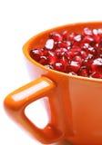 Pomegranate seeds stock photo