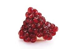Pomegranate seeds (Punica granatum) Stock Photos