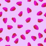 Pomegranate seeds seamless pattern background vector illustration