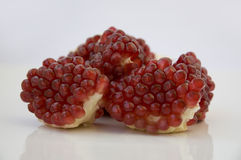 Pomegranate slices Royalty Free Stock Photography