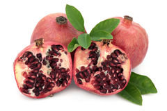 Pomegranate Super Food Royalty Free Stock Photography