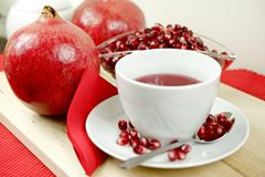 Pomegranate Tea Stock Photos